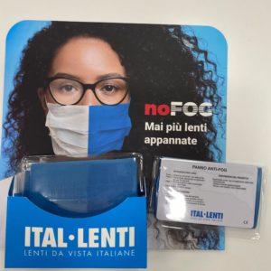 No-Fog Panno antifog Ital-lenti